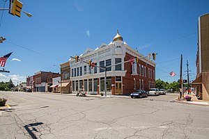 Fairmount, Indiana - Image: Fairmount, Indiana