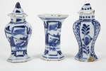 Fajans, kamingarnityr i miniatyr, 1600-tal - Hallwylska museet - 90506.tif