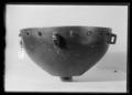 Falkernerarpuka av brons, syrisk-egyptisk, ca 1300, äldsta bevarade exemplaret - Livrustkammaren - 34588.tif