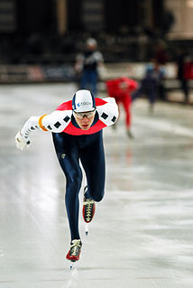 Falko Zandstra Dutch speed skater
