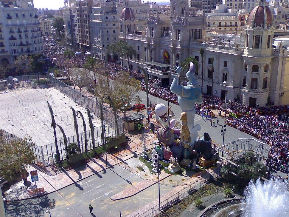 Falla Plaza Ayuntamiento 2008