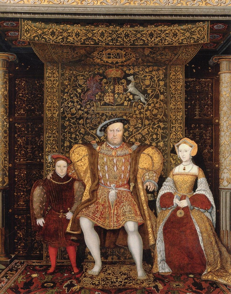 Family of Henry VIII c 1545 detail