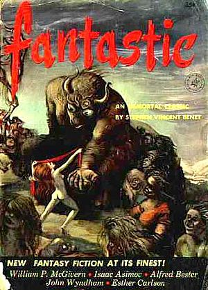 """Sally (short story) - """"Sally"""" was published in the May–June 1953 issue of Fantastic"""