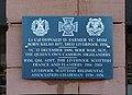 Farmer (Donald Dickson) VC memorial, Anfield Crematorium 3.jpg