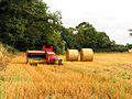 Farmland and Machinery near Littleton Drew - geograph.org.uk - 42842.jpg