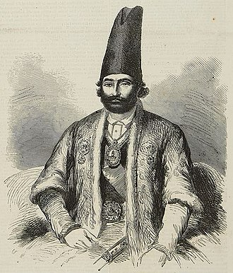 Anglo-Persian War - Ferouk Khan in The Illustrated London News, 1857.