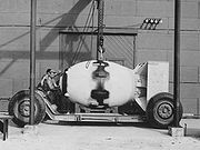 Fat Man Assembled Tinian 1945