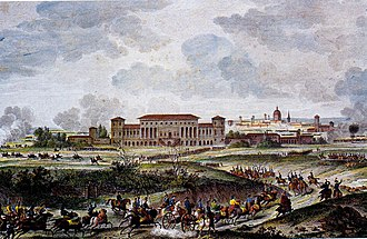 Siege of Mantua (1796–97) - La Favorita Palace was the scene of several actions