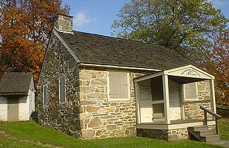 Haverford Township, Delaware County, Pennsylvania - 1797 Federal School