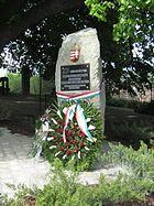 Felvidékről és Erdélyből elűzött családok emlékműve Dunabogdányban