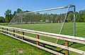 Fence and soccer goal in the north field in Brastad 2.jpg