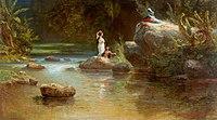 Ferdinand Bellermann - Badende am Fluss.jpg