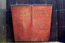Ferdinand Elsbach 1864-02-15 1931-06-05 Ida Elsbach geborene Rosenberg 1871-02-15 gestorben 1942 in Theresienstadt.jpg