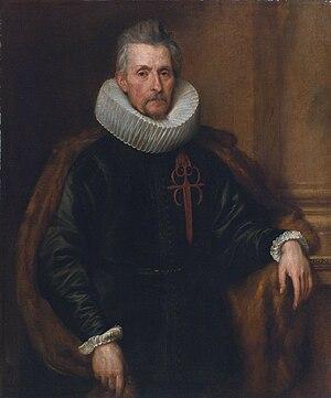 Ferdinand de Boisschot - Image: Ferdinand de Boischott (1571 1649), Baron Zaventem, attributed to Anthony van Dyck