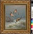 Ferdinand von Wright - Mealy Redpolls - A-2002-618 - Finnish National Gallery.jpg