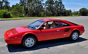 Ferrari Mondial - Image: Ferrari Mondial 3.2 side