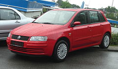Fiat Stilo przed liftingiem