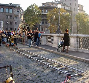The Mother of Tears - Primary filming in Rome on 25 October 2006. In this scene, a mother throws her baby from a bridge in a fit of aberration brought on by the return of the Third Mother