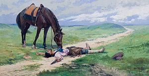 Antônio Parreiras - Image: Fim de romance by Antônio Diogo da Silva Parreiras 1915