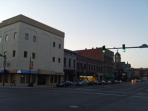 National Register of Historic Places listings in Hancock County, Ohio - Image: Findlay Downtown Historic District