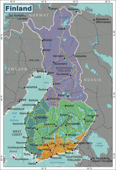 Finland Travel guide at Wikivoyage