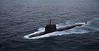 First torpedo firing trials of INS Kalvari (S50) - 1.jpg