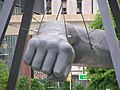 Fist of a Champion – Detroit's Monument to Joe Louis - panoramio.jpg