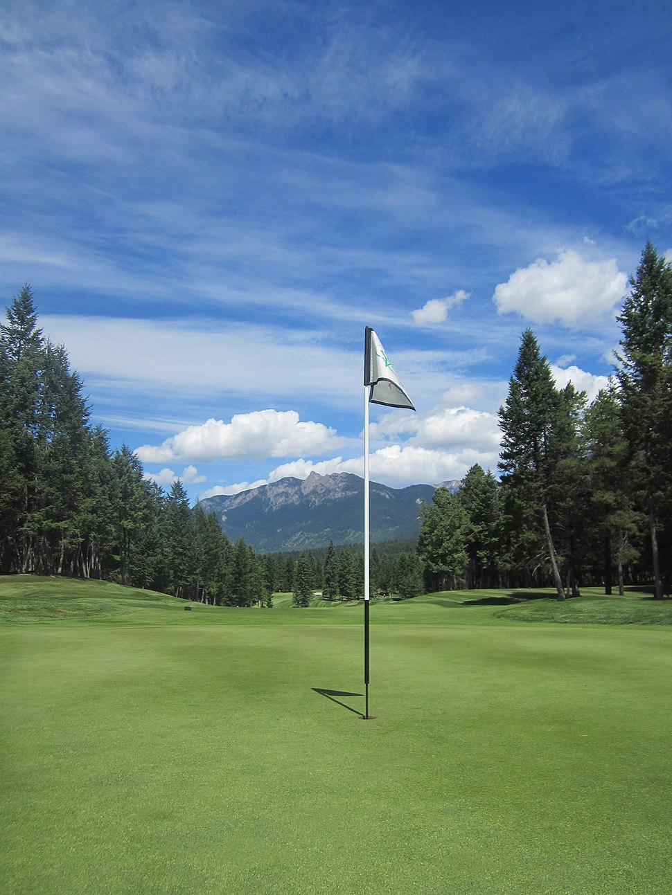 Flag at Spur Valley Golf Course - panoramio