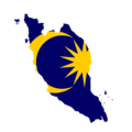 Flag map of West Malaysia.png