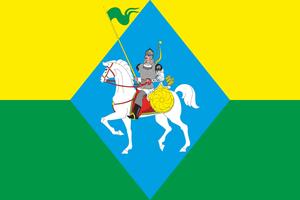 Alkeyevsky District - Flag of Alkeyevsky Municipal District
