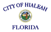 Flag of Hialeah, Florida