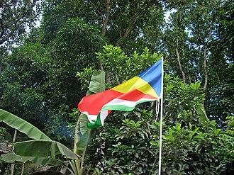 Koste Seselwa - Image: Flag of Seychelles