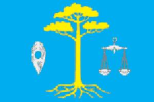 Teykovsky District - Image: Flag of Teikovsky rayon (Ivanovo oblast)