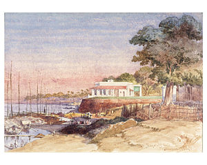 Danapur - Flagstaff ghat in 1859