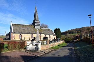 Flamets-Frétils Commune in Normandy, France
