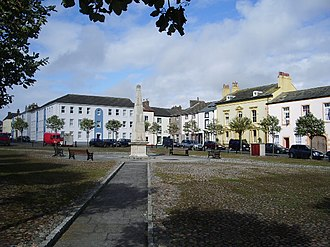 Maryport - Image: Fleming Square, Maryport geograph.org.uk 527440