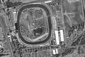Flemington Speedway - Image: Flemington speedway USGS