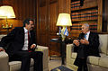 Flickr - Πρωθυπουργός της Ελλάδας - Αντώνης Σαμαράς - Συνάντηση με τον Πρόεδρο του Ισραήλ κ. Shimon Peres (5).jpg