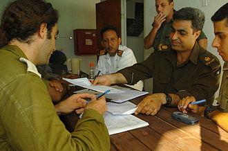 Israeli disengagement from Gaza - Israeli–Palestinian coordination effort, 2005