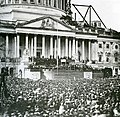 Flickr - USCapitol - Abraham Lincoln's First Inauguration.jpg