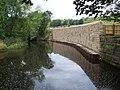 Flood defences on Clay Wheels Lane - geograph.org.uk - 1426149.jpg
