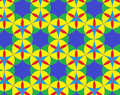 Flower of life on rhombitrihexagonal tiling.png