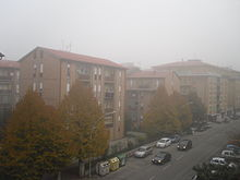 Tipica nebbia mattutina (fine ottobre)