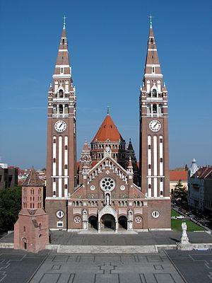 Ernő Foerk - Votive Church of Szeged, designed by Ernő Foerk and Frigyes Schulek