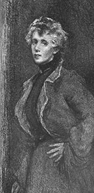 Elizabeth Forbes (artist) - Self-portrait about 1900