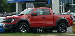 2010 Ford F-150 Raptor photographed in Waldorf...