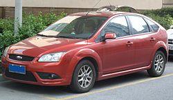 2005–2007 Ford Focus Zetec 5 kapılı hatchback (UK)