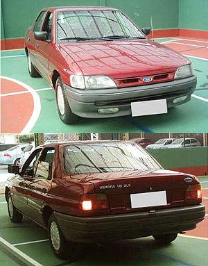 Ford Verona - Image: Ford Verona Geração 2