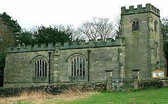 Foremarke Hall - St Saviour's church