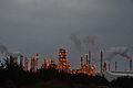 Formosa Plastics Group Mail-Liao Industrial Complex, at dusk, Yunlin (Taiwan).jpg
